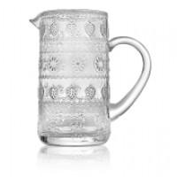 Кувшин для напитков, объем 2,0 л, высота 23,5 см, прозрачное стекло, серия Vitaminic, IVV, Италия
